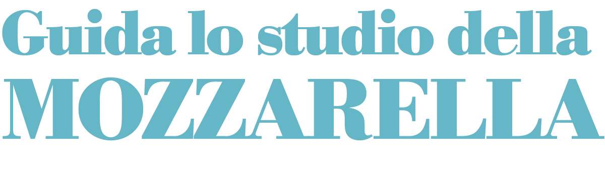 Guida lo studio della MOZZARELLA
