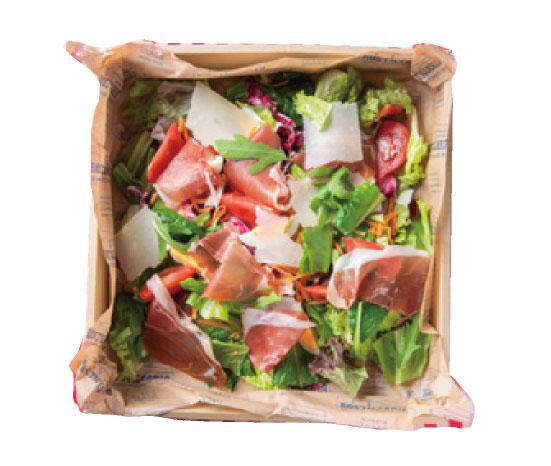 たっぷり有機野菜の具だくさんサラダ